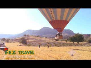 View our Kylie reflects on the awesome experience of hot-air ballooning over the moonscapes of Cappadocia. [0:35]