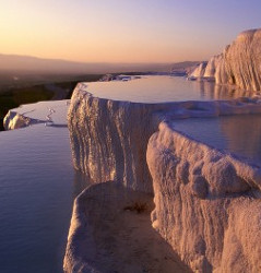 Pamukkale - Calcium Travertines